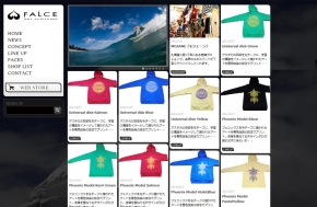FALCE ART CLOTING WEBサイト制作事例
