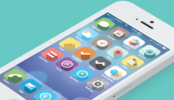 創造力を刺激する iOS7 リデザイン